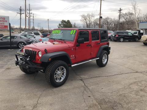 2007 Jeep Wrangler Unlimited for sale at Downing Auto Sales in Des Moines IA