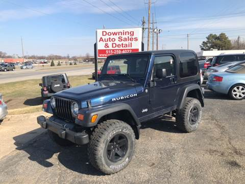 2003 Jeep Wrangler for sale at Downing Auto Sales in Des Moines IA