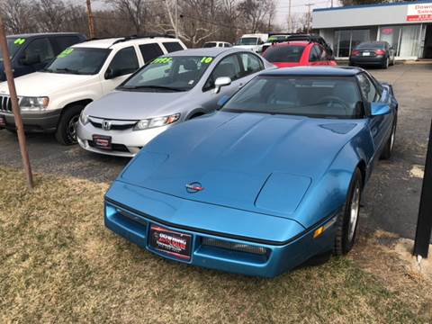 1987 Chevrolet Corvette for sale at Downing Auto Sales in Des Moines IA