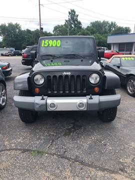 2008 Jeep Wrangler for sale at Downing Auto Sales in Des Moines IA