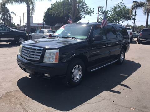 2003 Cadillac Escalade ESV for sale in Oxnard, CA