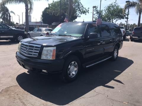 2003 Cadillac Escalade ESV for sale in Oxnard, CA