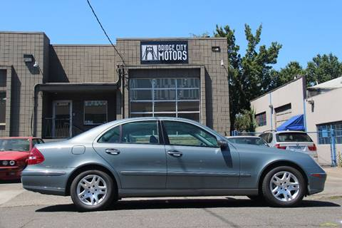 2006 Mercedes-Benz E-Class for sale in Portland, OR