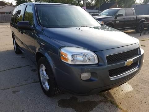 2007 Chevrolet Uplander for sale in Eastpointe, MI