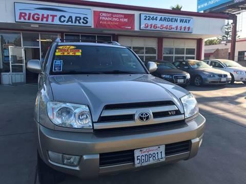 2004 Toyota 4Runner for sale in Sacramento, CA