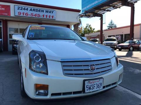 2007 Cadillac CTS for sale in Sacramento, CA