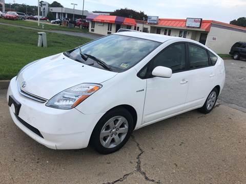 2007 Toyota Prius for sale at VENTURE MOTOR SPORTS in Virginia Beach VA