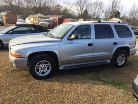 2003 Dodge Durango for sale in Monroe NC
