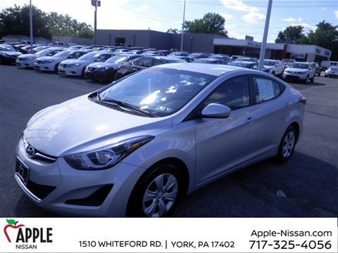 2016 Hyundai Elantra for sale in York, PA