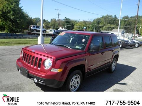 2017 Jeep Patriot for sale in York, PA