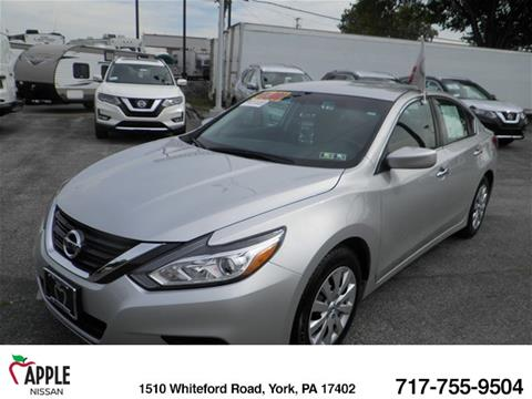 2016 Nissan Altima for sale in York PA