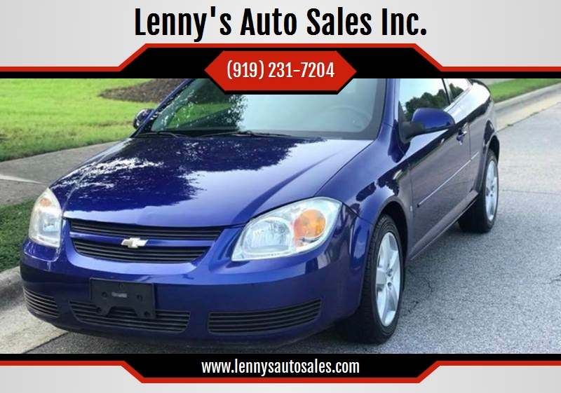 2007 Chevrolet Cobalt For Sale At Lennyu0027s Auto Sales Inc. In Raleigh NC