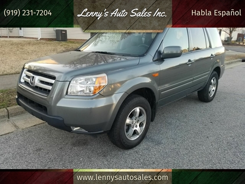 2007 Honda Pilot for sale in Raleigh, NC