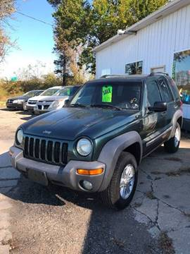 2002 Jeep Liberty for sale in Massillon, OH