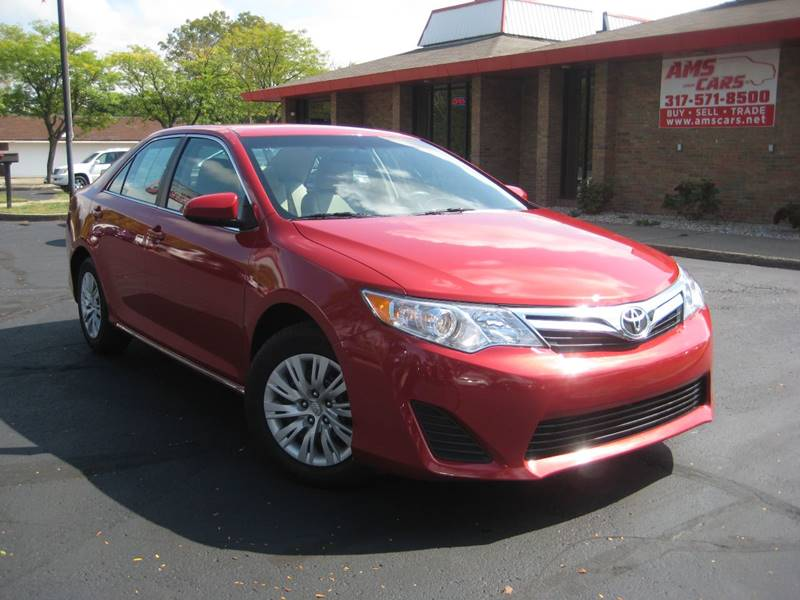 2012 Toyota Camry for sale at AMS Cars in Indianapolis IN