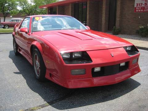 1991 Chevrolet Camaro for sale at AMS Cars in Indianapolis IN