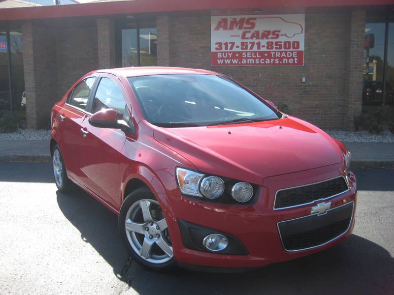 2012 Chevrolet Sonic for sale at AMS Cars in Indianapolis IN