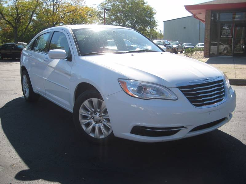 2012 Chrysler 200 for sale at AMS Cars in Indianapolis IN