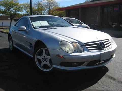 2003 Mercedes-Benz SL-Class for sale at AMS Cars in Indianapolis IN
