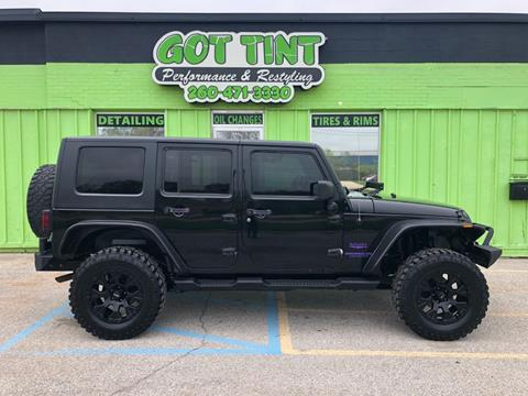 2008 Jeep Wrangler Unlimited for sale in Fort Wayne, IN