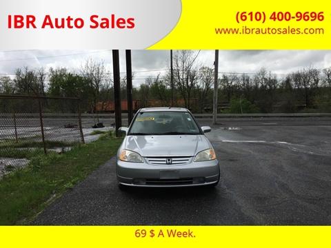 2002 Honda Civic for sale in Pottstown, PA