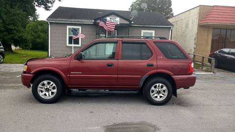 2002 Isuzu Rodeo for sale in Jacksonville NC
