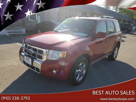Ford Escape For Sale In Jacksonville Nc Best Auto Sales