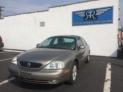 2002 Mercury Sable for sale at R&R Car Company in Mount Clemens MI