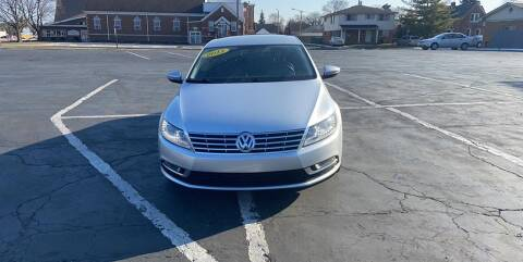2013 Volkswagen CC for sale at R&R Car Company in Mount Clemens MI
