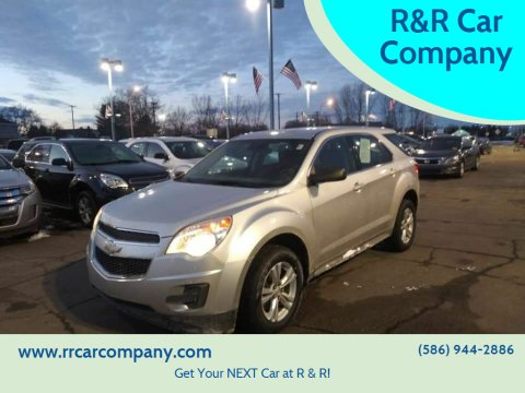 2013 Chevrolet Equinox for sale at R&R Car Company in Mount Clemens MI