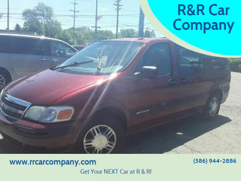 2003 Chevrolet Venture for sale at R&R Car Company in Mount Clemens MI