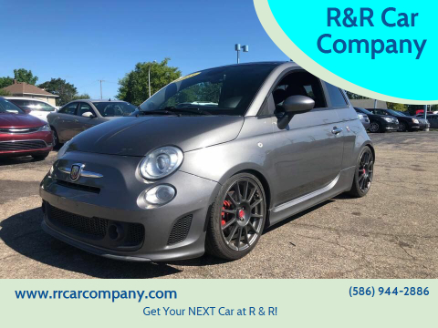 2013 FIAT 500 for sale at R&R Car Company in Mount Clemens MI