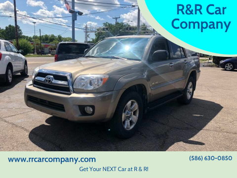 2007 Toyota 4Runner for sale at R&R Car Company in Mount Clemens MI