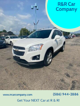 2016 Chevrolet Trax for sale at R&R Car Company in Mount Clemens MI