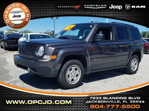 2016 Jeep Patriot for sale in Jacksonville, FL