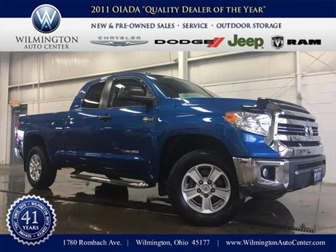 2016 Toyota Tundra for sale in Wilmington OH