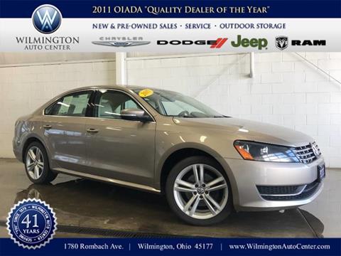 2015 Volkswagen Passat for sale in Wilmington OH