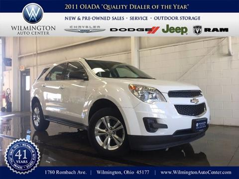 2012 Chevrolet Equinox for sale in Wilmington OH