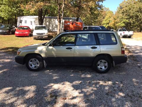 2002 Subaru Forester for sale in Galena, KS