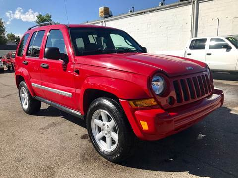 2005 Jeep Liberty Limited for sale at ISLAND MOTORS, INC. in Englewood CO