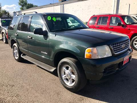 2004 Ford Explorer XLT for sale at ISLAND MOTORS, INC. in Englewood CO