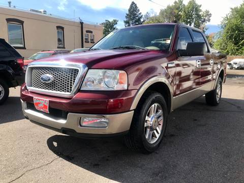 2004 Ford F-150 Lariat for sale at ISLAND MOTORS, INC. in Englewood CO