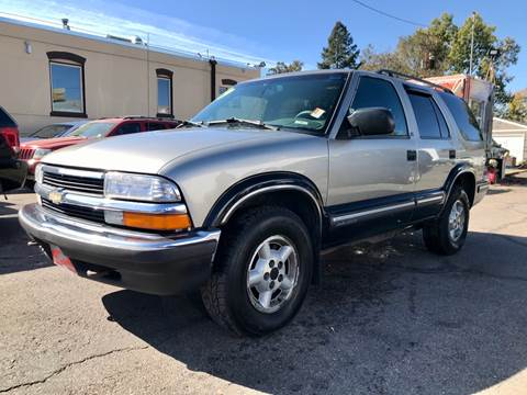 1999 Chevrolet Blazer LS for sale at ISLAND MOTORS, INC. in Englewood CO
