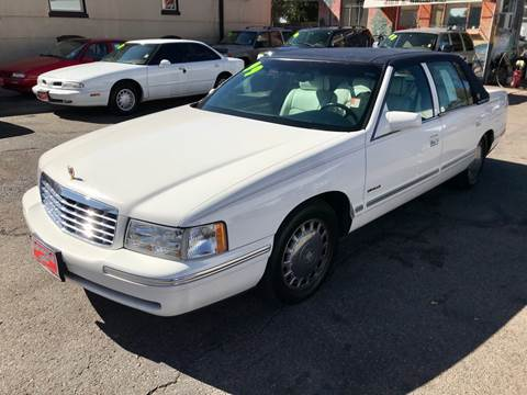 1999 Cadillac DeVille for sale at ISLAND MOTORS, INC. in Englewood CO