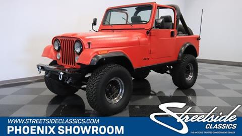 1985 Jeep CJ-7 for sale in Mesa, AZ