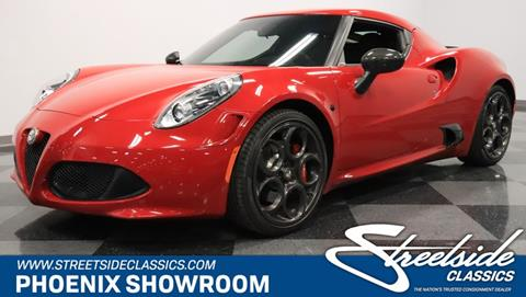 2015 Alfa Romeo 4C for sale in Mesa, AZ