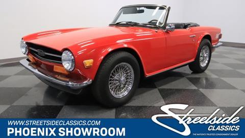1974 Triumph TR6 for sale in Mesa, AZ