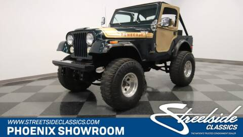 1976 Jeep CJ-5 for sale in Mesa, AZ
