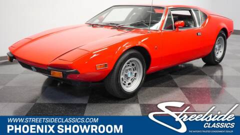 1972 De Tomaso Pantera for sale at Streetside Classic Cars - Phoenix in Mesa AZ