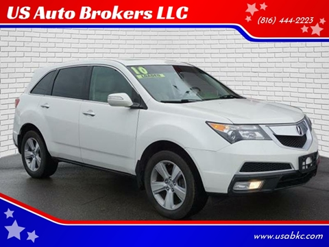 2010 Acura MDX for sale in Kansas City, MO